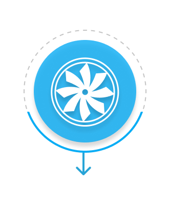 air flow wheel